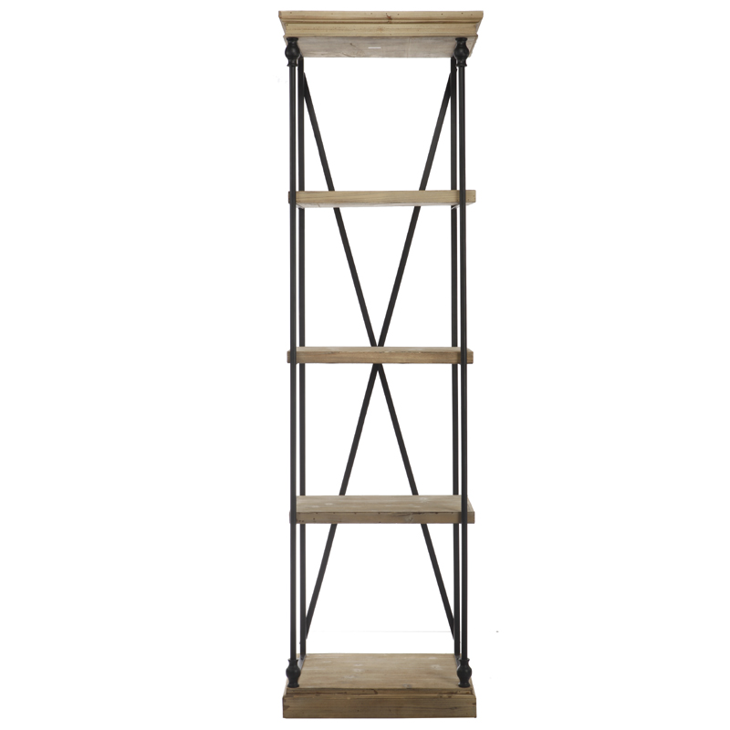 Wood metal etagere showroom a21 design pty ltd - Etagere metal industriel ...